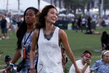 Jamie Chung Coachella Valley Music and Arts Festival- Day 1