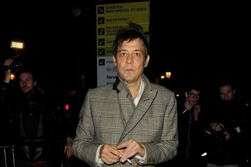 Jamie Hince Arrivals at the Etam Show