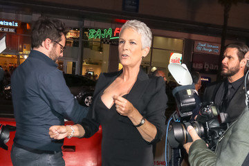 Jamie Lee Curtis Jamie Lee Curtis Is Seen At The 'Halloween' Premiere At TLC Chinese Theatre In Hollywood