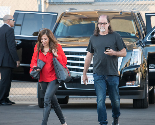 Glenn Weiss Arrives At 'Jimmy Kimmel Live'