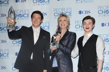 Jane Lynch Chris Colfer File Photos: Cory Monteith (1982-2013) — Part 4
