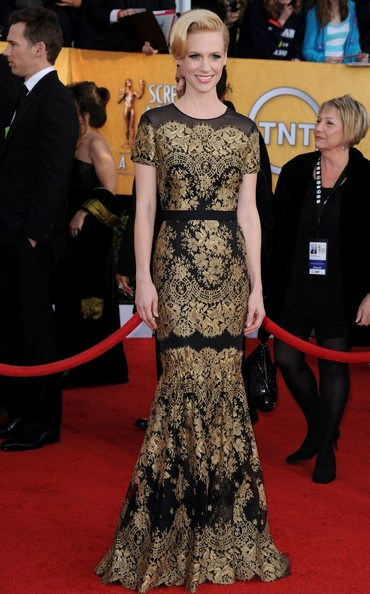 January Jones 17th Annual Screen Actors Guild Awards.Shrine Auditorium, Los Angeles, CA.January 30, 2011.