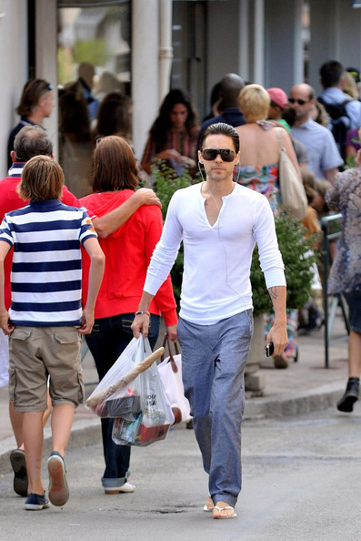 Jared Leto - Jared Leto in Saint Tropez