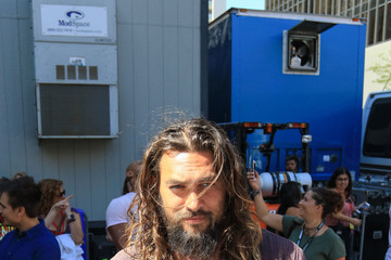 Jason Momoa Jason Momoa Attends DC Entertainment's Warner Bros. Pictures 'Aquaman' Autograph Signing During Comic-Con International 2018
