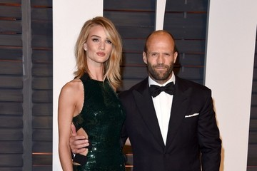 Jason Statham Stars at the Vanity Fair Oscar Party