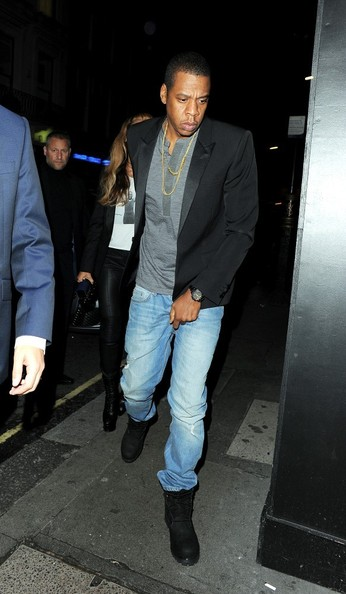 Jay Z and Beyonce Knowles Enjoy a Night Out