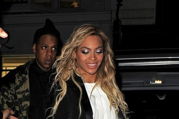 Jay-Z Beyonce Knowles Jay Z and Beyonce Knowles' Date Night