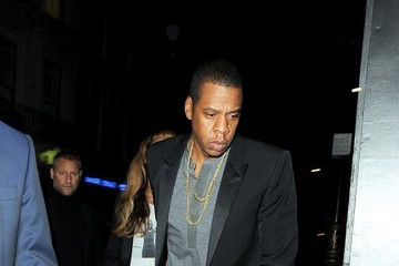 Jay-Z Beyonce Knowles Jay Z and Beyonce Knowles Enjoy a Night Out