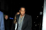 Beyonce and Jay Z are spotted walking to the Arts Club on a night out.