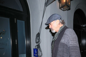 Jeff Fahey Jeff Fahey Outside Craig's Restaurant in West Hollywood