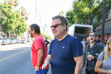 Jeff Garlin Jeff Garlin Is Seen At Sarah Silverman's Hollywood Walk Of Fame Star Ceremony