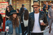 Jeff Goldblum and Wife Emilie Livingston Go for a Casual Stroll