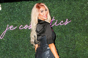 Farrah Abraham is seen attending Jenelle Evans Launchiing JE Cosmetics in New York City.