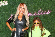 Farrah Abraham with daughter Sophia are seen attending Jenelle Evans Launchiing JE Cosmetics in New York City.