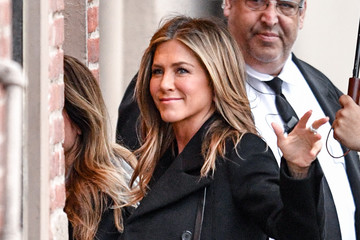 Jennifer Aniston Jennifer Aniston Appears On 'Kimmel'