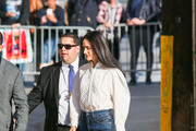 Jennifer Connelly is seen arriving at 'Jimmy Kimmel Live' in Los Angeles, California.