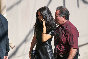 Jennifer Connelly Celebrities Are Seen at 'Jimmy Kimmel Live'