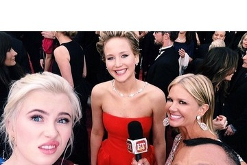 Jennifer Lawrence Celebrity Social Media Pics — Part 2
