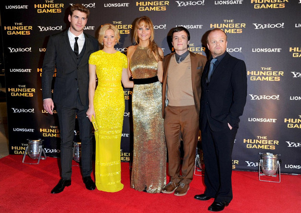 Jennifer Lawrence - 'The Hunger Games' UK premiere