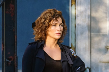 Jennifer Lopez Jennifer Lopez Films 'Shades of Blue' in Brooklyn