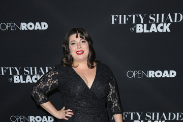 Jenny Zigrino Celebrities Attend the 'Fifty Shades of Black Premiere'
