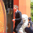 Jeremy Renner Jeremy Renner Outside TCL Chinese Theatre In Hollywood