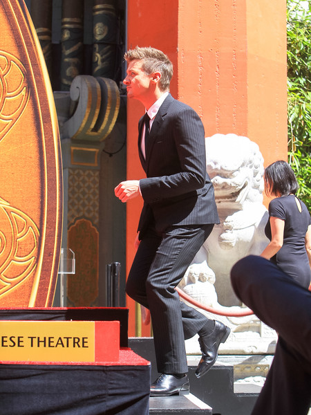 Jeremy Renner Outside TCL Chinese Theatre In Hollywood []