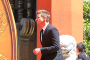 Jeremy Renner is seen in Los Angeles, California.