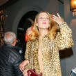 Jerry Hall Jerry Hall At Craig's Restaurant in West Hollywood