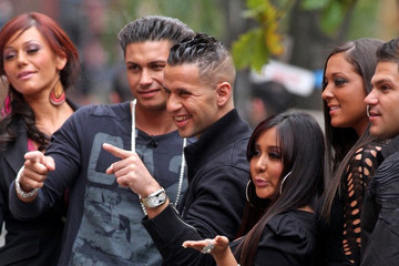 Sammi Giancola  Ronnie Ortiz-Magro 'Jersey Shore' Cast on 'The Wendy Williams Show'