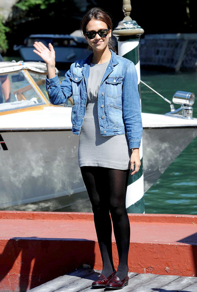 jessica alba machete twins. Jessica Alba Boat arrivals at