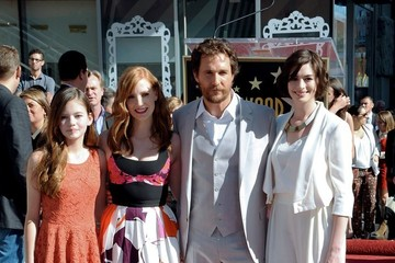Jessica Chastain Matthew McConaughey Honored on the Walk of Fame