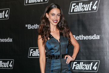 Jessica Lowndes Celebrities Arrive at the 'Fallout 4' Launch Party