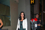 Jessica Lowndes is seen in Los Angeles, California.