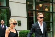 Jessica Simpson and Eric Johnson Leave Their Hotel