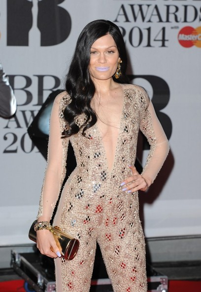 Jessie J - Arrivals at the BRIT Awards