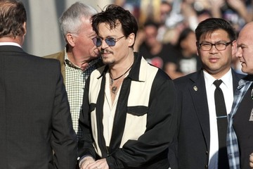 Jimmy Kimmel Johnny Depp Heads to 'Jimmy Kimmel Live!'