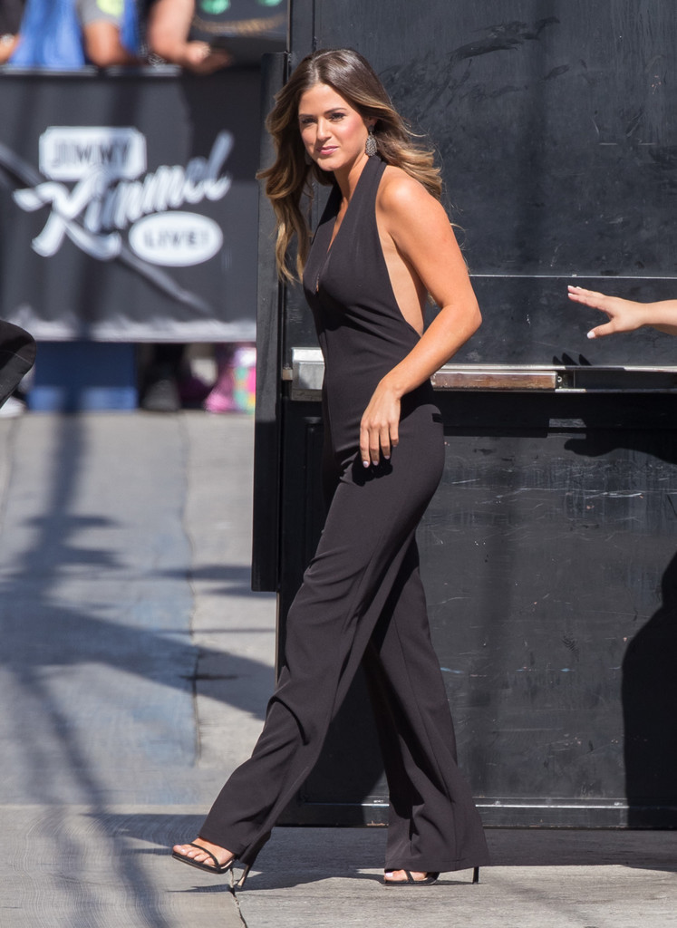 JoJo Fletcher Spotted at 'Jimmy Kimmel Live' 08/01/2016