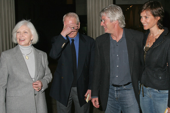 Richard Gere And Carey Lowell Wedding Joanne Woodward Photos...