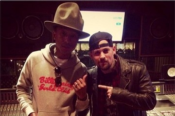Joel Madden Celebrity Social Media Pics