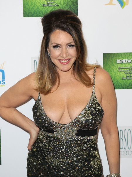 Joely Fisher bathing suit