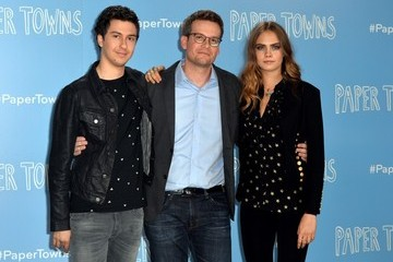 John Green Actors Attend the 'Paper Towns' Photocall
