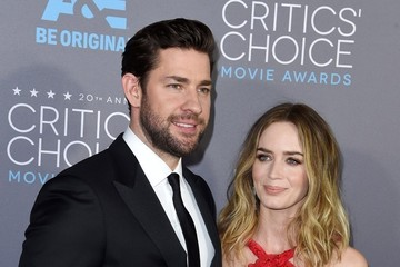 John Krasinski Arrivals at the Critics' Choice Movie Awards