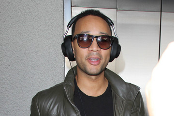 John Legend John Legend Spotted at LAX