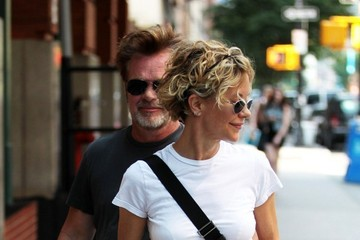 John Mellencamp Meg Ryan and John Mellencamp Together in NYC
