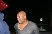 John Singleton is seen out in Los Angeles, California on Oct. 13, 2017.