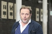 Actor John Thompson is pictured leaving the ITV studios following a guest appearance on 'Good Morning Britain'.