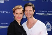 John Varvatos 10th Annual Stuart House Benefit..John Varvatos, West Hollywood, CA..March 10, 2013..Job: 130310A2..(Photo by Axelle Woussen)..Pictured: Jason Behr and KaDee Strickland..