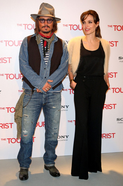 "Johnny Depp ""The Tourist"" photocall at the Villamagna Hotel and the premiere at the Palacio de los Deportes."