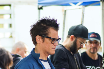 Johnny Knoxville Johnny Knoxville At The Farmer's Market In Studio City
